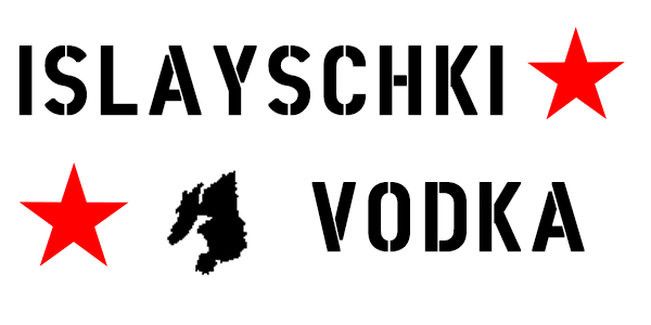 Label for Islayschki Vodka